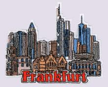 Frankfurt Embroidered Patches