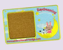 Daydreaming Embroidered Coaster