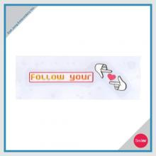 Iron On Embroidery Set - FOLLOW YOUR HEART