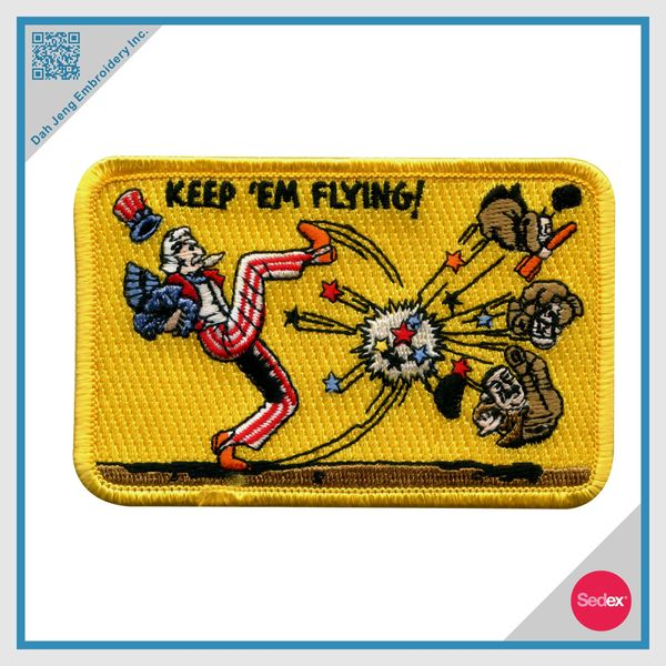 Embroidery Patch - Customized Iron on Patch- Cartoon Patch
