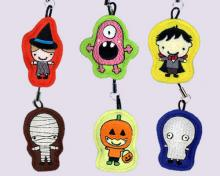 Halloween Embroidered Cell Phone Strips