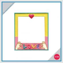 Removable Photo Frame Embroidery Sticker - LOVE