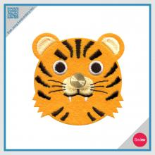 Embroidery Tiger Earphone Winder / Wire Collector